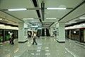 Interchange platform in Guogongzhuang Station.jpg
