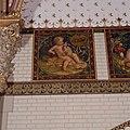 Interieur, bel-etage, achterzijde rechts (Vestibule van de wachtkamer eerste klasse), muurschildering, De maand april - Amsterdam - 20392765 - RCE.jpg