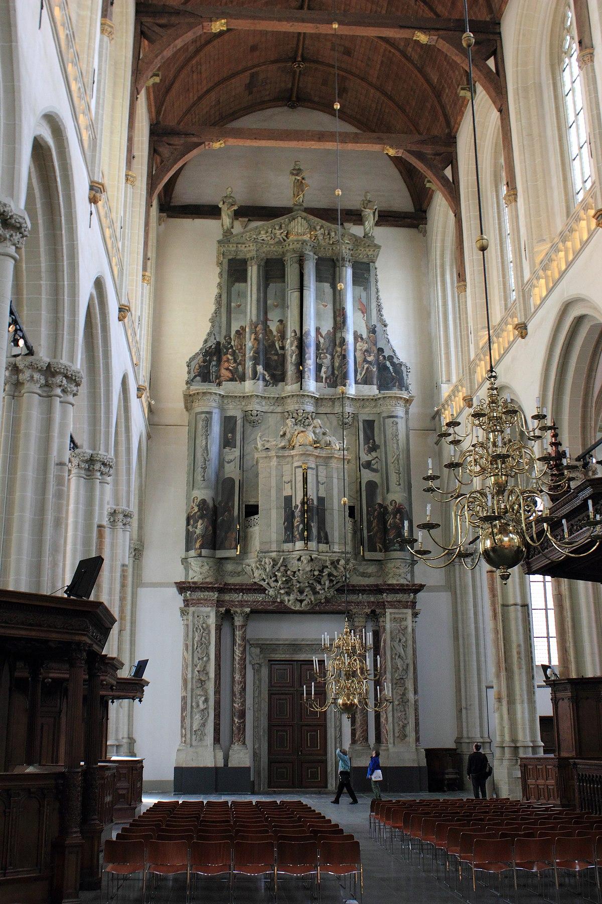 orgels van de nieuwe kerk amsterdam wikipedia. Black Bedroom Furniture Sets. Home Design Ideas