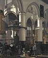 Interior of the Oude Kerk in Delft by Emanuel de Witte.jpg