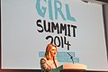 Intternational Development Secretary, Justine Greening, speaking at the opening of the Girl Summit 2014 (14528981090).jpg