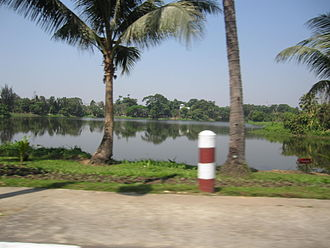 Inya Lake - Inyale from Pyay Road