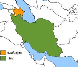 Aserbaidschanisch Iranische Beziehungen Wikipedia