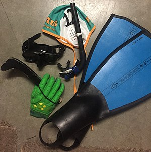 Underwater hockey - Worlds Competition Grade Equipment