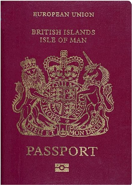 British passport (Isle of Man) Isle of man passport.jpg