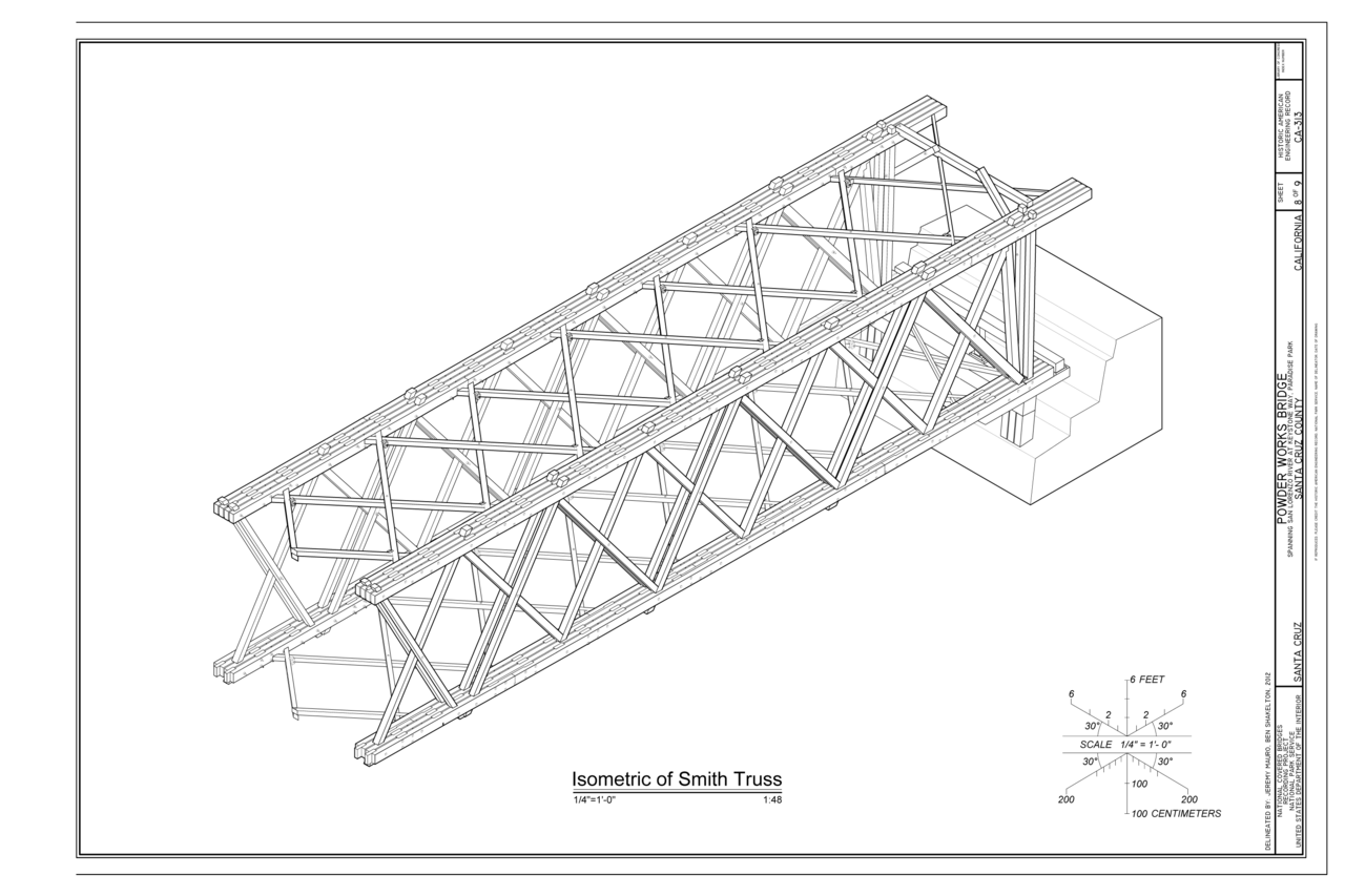File Isometric Of Smith Truss Powder Works Bridge