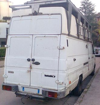 Iveco Daily - Second generation Iveco Daily rear
