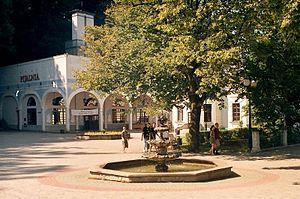 Doły Jasielsko-Sanockie - Image: Iwonicz zdrojj