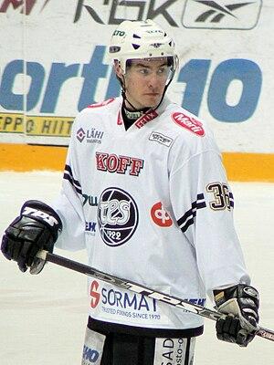 Joonas Järvinen - Image: Järvinen Joonas TPS 2009 1