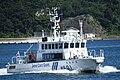 JCG Kinugasa(MS-01) right front view at Port of Yokosuka July 26, 2019 01.jpg