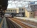JR大和路線 柏原駅 Kashiwara station, JR Yamatoji line 2010.8.02 - panoramio.jpg