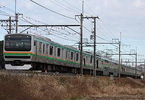 Utsunomiya Line - Image: JR East E231 1000 U505