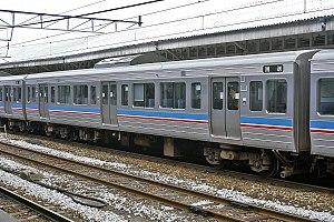 JR Shikoku 6000 series - Image: JRS EC 6201 20010113