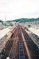 JR Karuizawa Station platform 19970716.jpg