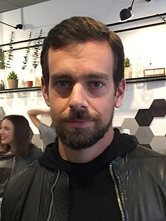 Jack Dorsey American internet computer software executive and CEO of Twitter and Square