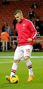 Jack Wilshere warm up - 12 Feb 2014 (cropped).jpg