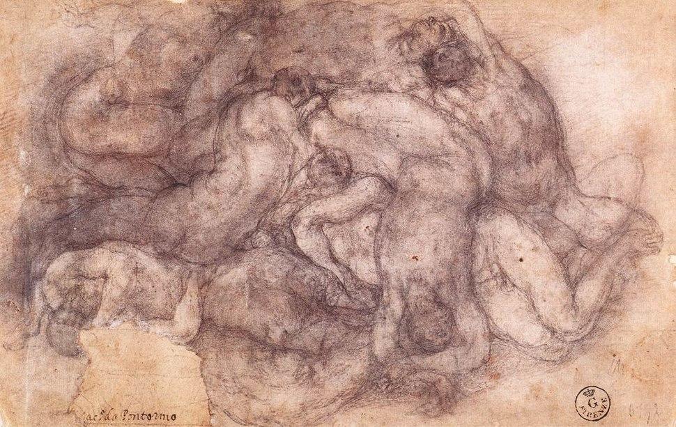 Jacopo Pontormo - Group of the Dead - WGA18133