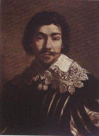 Jacques de Létin - Self portrait of Jacques de Létin (Musée des beaux-arts de Troyes)
