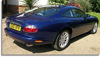 Jaguar XK (X100) - XKR coupé