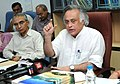 Jairam Ramesh addressing the press conference at the inauguration of the Society for Integrated Coastal Management (SICOM) , in New Delhi on September 15, 2010.jpg