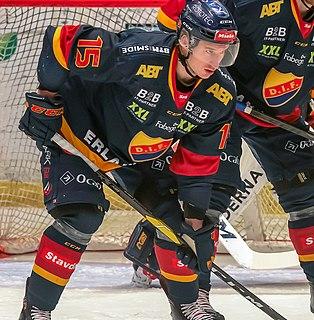 Jakob Lilja Swedish ice hockey player