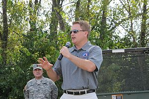 James Comer (politician) - Comer speaking to members of the Kentucky National Guard in 2013