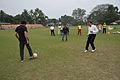 Jamshid Nassiri - Ranjan Chowdhury - Syed Nayeemuddin - Showing Skills - Football Workshop - Sagar Sangha Stadium - Baruipur - South 24 Parganas 2016-02-14 1186.JPG