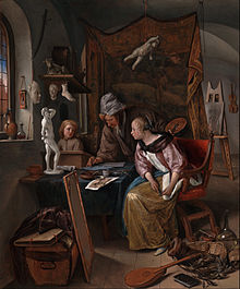 Jan Steen (Dutch) - The Drawing Lesson - Google Art Project.jpg