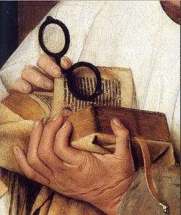 portrait of book by van Eyck
