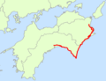 Japan National Route 55 Map.png