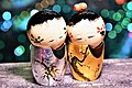 Japanese Wedding Love Doll with Sunset scene by Trisorn Triboon 04.jpg