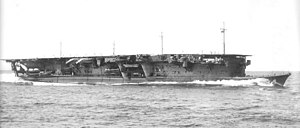 Japanese aircraft carrier Ryūjō underway on 6 September 1934.jpg