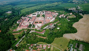 Josefov Fortress - Air photo of Fortress Josefov