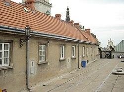 Pierwsze piętro oraz dwuspadowy dach
