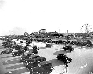 Jacksonville Beach, Florida - Ocean View Pavilion in 1936.
