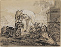 Jean-Baptiste Oudry - After the Hunt- Two Hounds beside a Boar's Head - Google Art Project.jpg