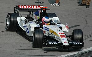 BAR 007 - Image: Jenson Button 2005 China (crop)