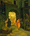 Jerome Myers - Market in Paris - Google Art Project.jpg