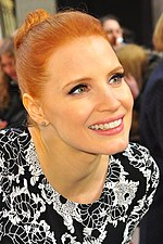 Photo of Jessica Chastain at the 2013 Cannes Film Festival.