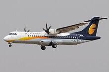 Un ATR 72-500 di Jet Airways
