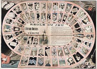 Dreyfus affair - Dreyfus affair board game, 1898, Poster, 65 x 48 cm, Musée d'Art et d'Histoire du Judaisme