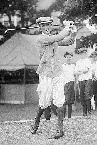 Jock Hutchison - Hutchison in 1921