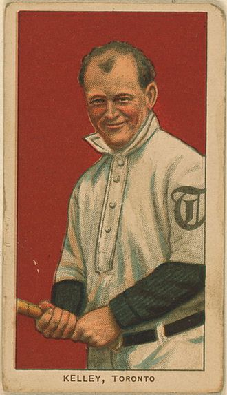 Joe Kelley - Kelley's 1909 American Tobacco Company baseball card