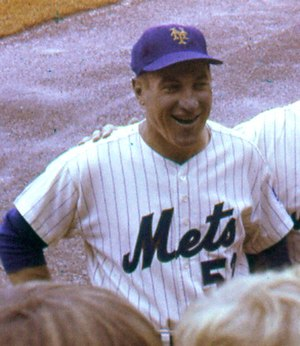 Joe Pignatano - Pignatano as the Mets' bullpen coach, 1969.