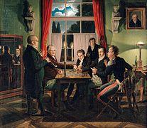 Johann Erdmann Hummel Schachpartie.jpg
