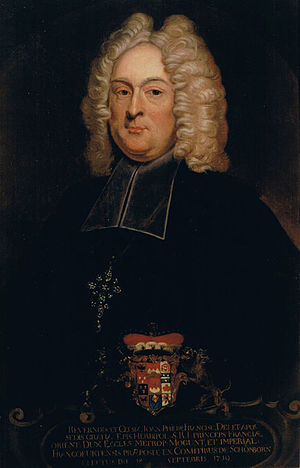 Johann Philipp Franz von Schönborn - Johann Philipp Franz von Schönborn