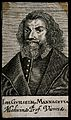 Johann Wilhelm Mannageta. Line engraving, 1688. Wellcome V0003818.jpg
