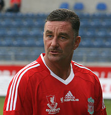 Colour photograph of John Aldridge