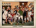 John Bull being force-fed via a stomach pump, by a queue of Wellcome V0011636.jpg