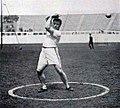 John Flanagan, victorieux du lancer du marteau aux JO de 1908.jpg